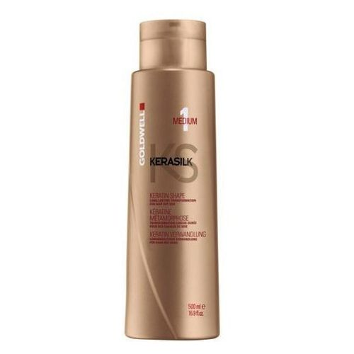 Goldwell Kerasilk Keratin Treatment Shape Medium | Keratynowy zabieg prostowania 500ml