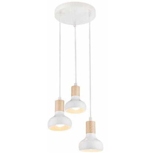 CANDELLUX PUERTO 33-62635 Lampa wisząca 3x40W E14 biały, 33-62635