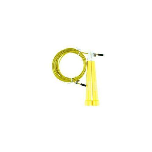 Tsr skakanka speed rope 1.0- żółty - żółty