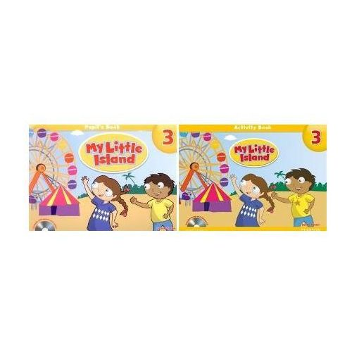 My Little Island 3, Pupil&#39s Book (podręcznik) plus CD-ROM, Leone Dyson