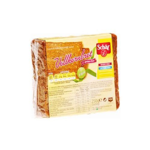 Chleb ciemny razowy bezglutenowy volkornbrot 250g marki Schär