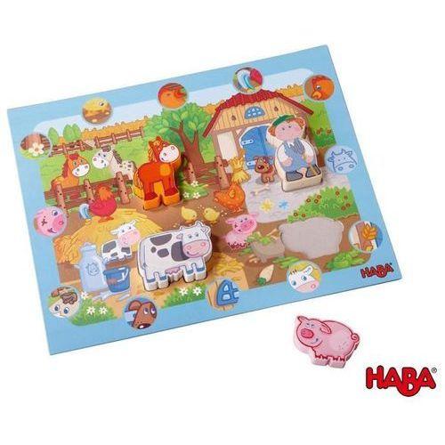 Haba Drewniane Puzzle - Na Farmie z kategorii Puzzle
