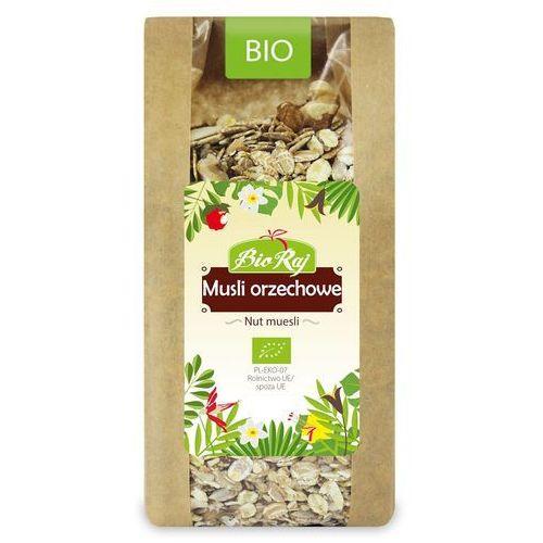 Musli Orzechowe BIO 300 g Bio Raj, 5902983782858