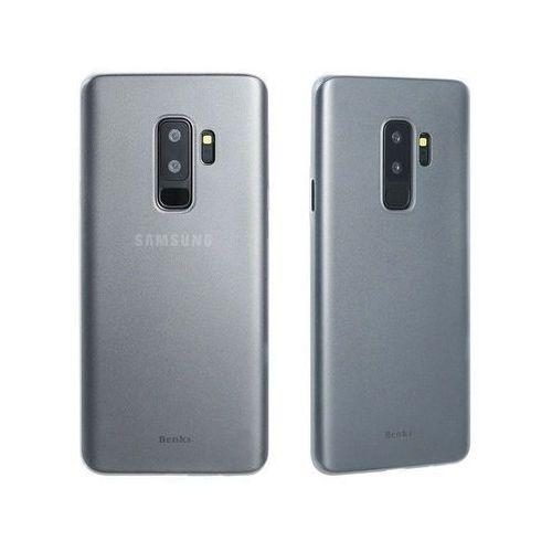 Etui Benks Magic Lollipop Samsung Galaxy S9+ Plus black +Szkło - Biały, kolor biały