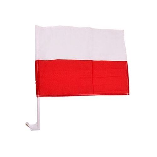 FPOL09: Polska - flaga samochodowa