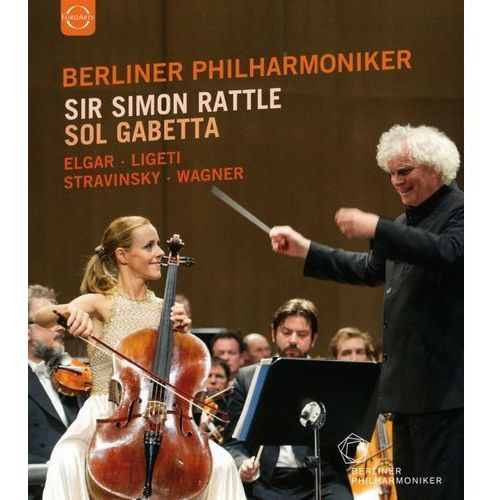 Live From Baden-Baden 2014: Elgar, Ligeti, Stravinsky, Wagner (DVD) - Sol Gabetta, Berliner Philharmoniker, Simon Rattle