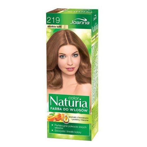 Joanna naturia color farba do włosów nr 219-słodkie toffi 150g