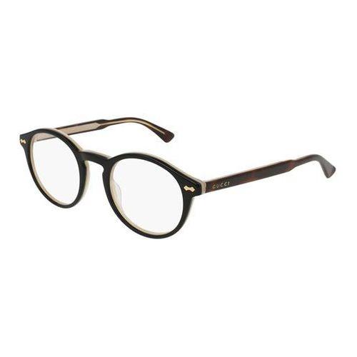 Okulary korekcyjne gg0127o 005 marki Gucci