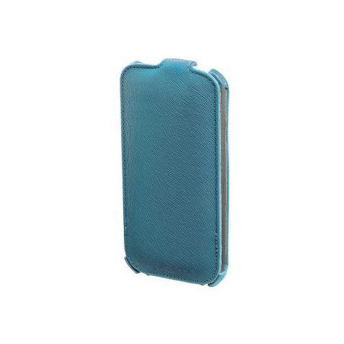 Etui HAMA Flap Case do Galaxy S4 Niebieski, kolor niebieski