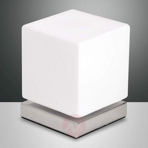 Ściemniacz dotyk., lampa stołowa led brenta, chrom marki Fabas luce