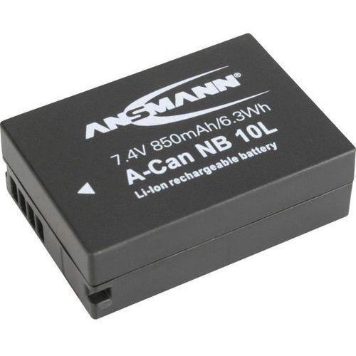 Akumulator do aparatu Ansmann Akumulator zamienny NB-10L Napięcie: 7.4 V Pojemność: 850 mAh