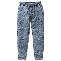 Spodnie dresowe Slim Fit bonprix szary, kolor szary