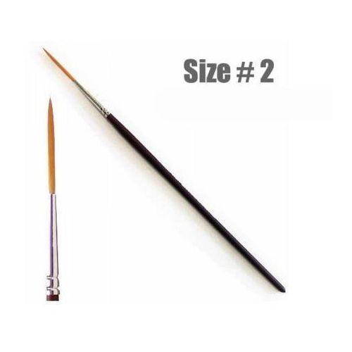 Italeri Pędzel okrągły, syntetyczny, długie włosie - rozmiar 2  51265 (8001283512657)