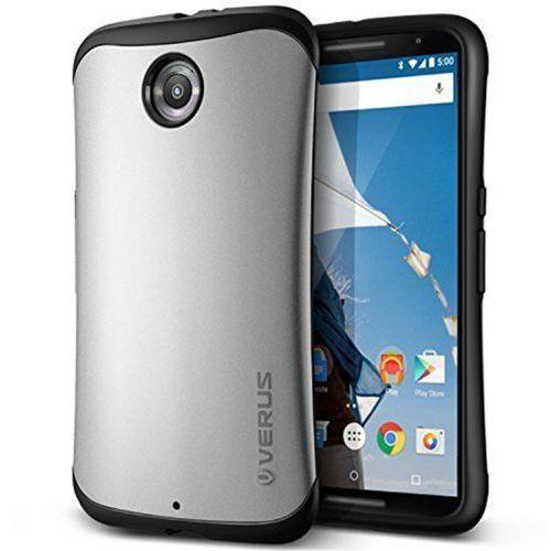 VRS DESIGN Hard Drop Etui Google Nexus 6 srebrny (8809433552320)