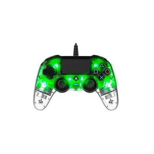 OKAZJA - Gamepad Nacon Wired Compact Controller pro PS4 (ps4hwnaconwicccgreen) Zielony/przezroczysty