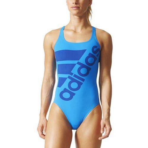 Strój kąpielowy adidas Performance Graphic AY2833, kolor niebieski