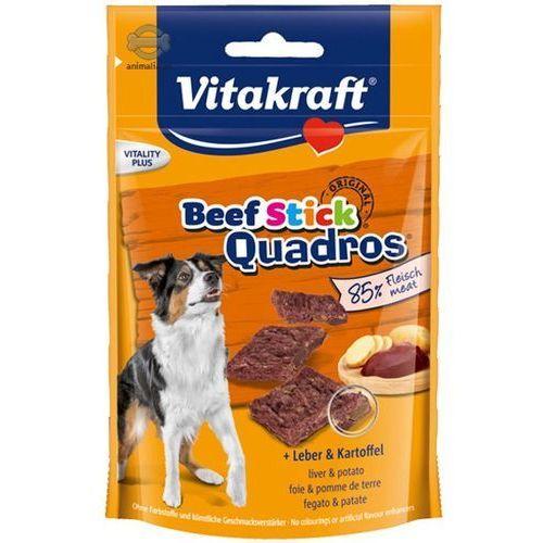 Vitakraft beef stick quadros wątróbka i ziemniaki 70g (4008239288035)