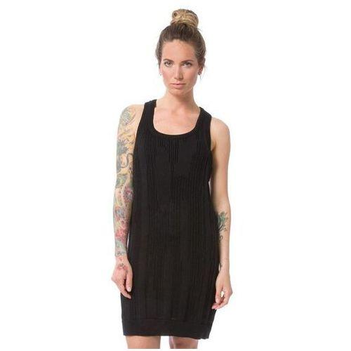 Nikita Sukienka - kvinna jet black (blk) rozmiar: xs