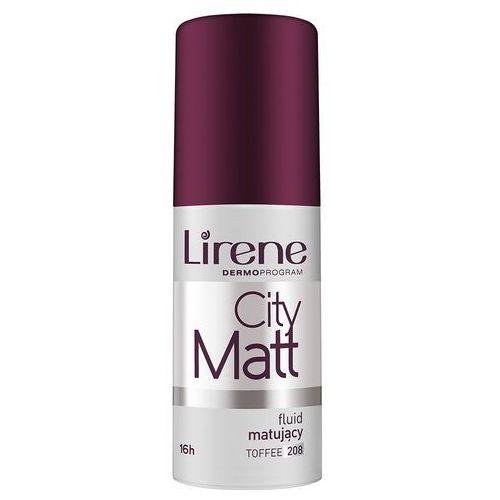 Fluid LIRENE City Matt wygładzający toffee 208 - 10E06208-01-04 (5900717062085)