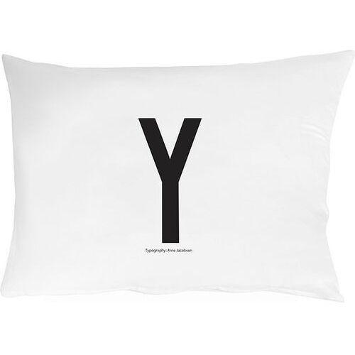 Poszewka na poduszkę arne jacobsens vintage abc litera y marki Design letters