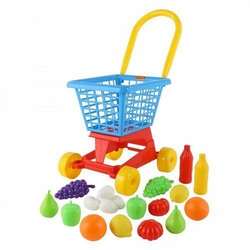 Wader-polesie Wózek supermarket + zestaw zakupowy