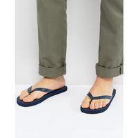 blanca logo flip flops - blue marki Ben sherman
