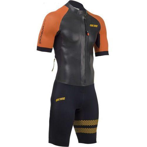 swimrun go mężczyźni czarny s 2018 pianki do swimrun marki Colting wetsuits
