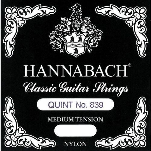 Hannabach (652822) 839MT struna do gitary klasycznej (medium) - Fis/F#2