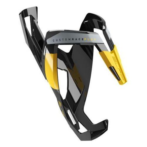 Koszyk na bidon ELITE Custom Race Plus czarny-żółty / Wykończenie: połysk (8020775026847)