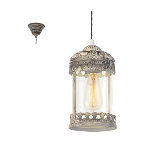 Eglo 49203 - Lampa wisząca VINTAGE 1xE27/60W/230V