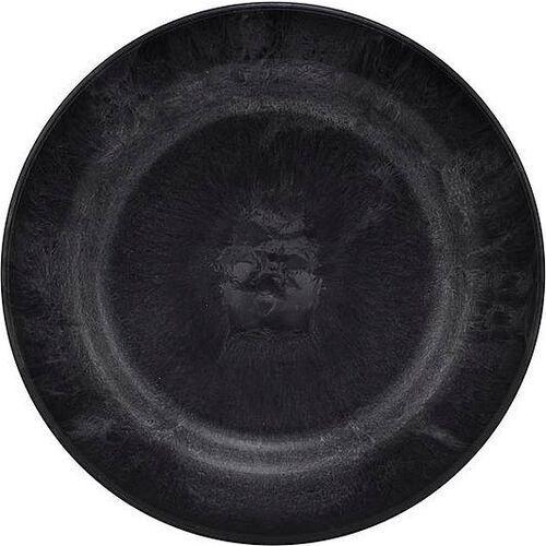 Talerze deserowe serveur czarne 4 szt. (5707644707092)