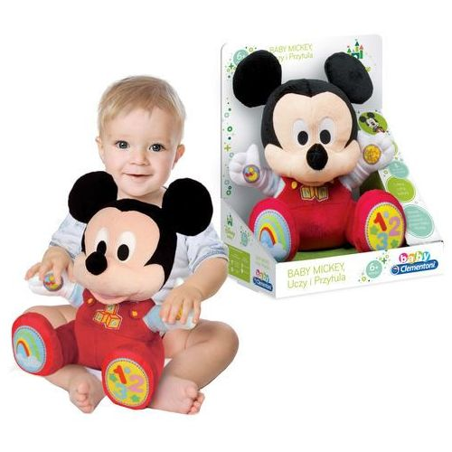 Clementoni Maskotka Myszka Mickey Miki ucząca się polska wersja językowa