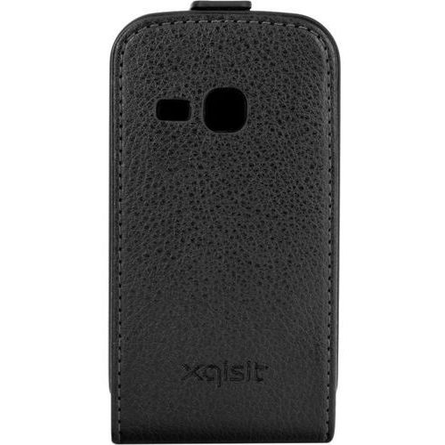 Pokrowiec XQISIT Flipcover (Samsung Galaxy Mini 2) Czarny, kolor czarny