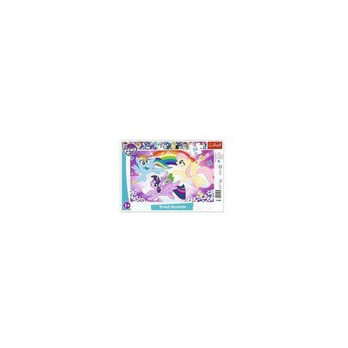 Puzzle ramkowe 15 elementów - My Little Pony, Zabawa kucyków - Poznań, hiperszybka wysyłka od 5,99zł!
