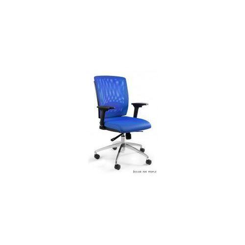 Krzesło biurowe Multi niebieskie, kolor niebieski