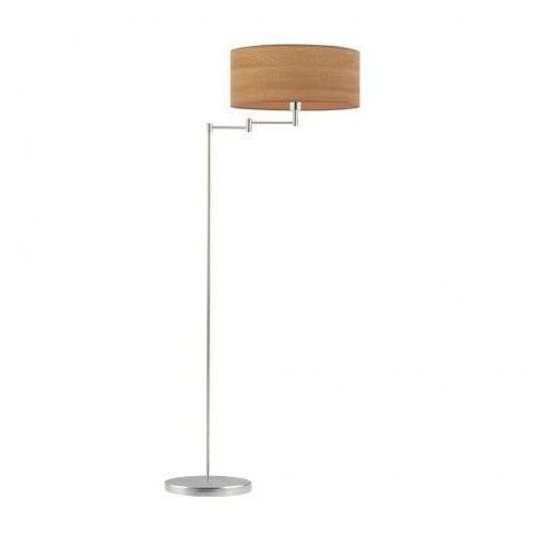 Lampa stojąca przegub ASTER NATURAL abażur walec