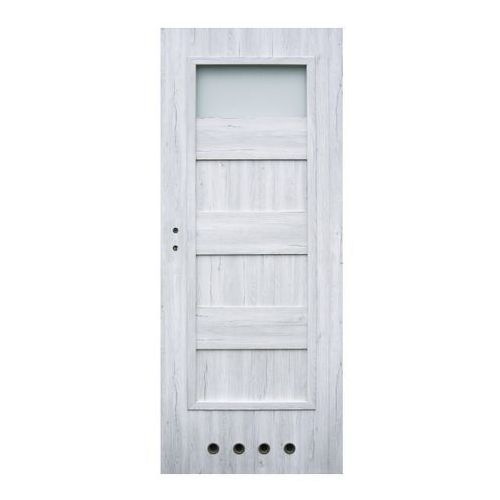 Drzwi z tulejami Winfloor Kastel 70 prawe silver, KSSV/L 70P