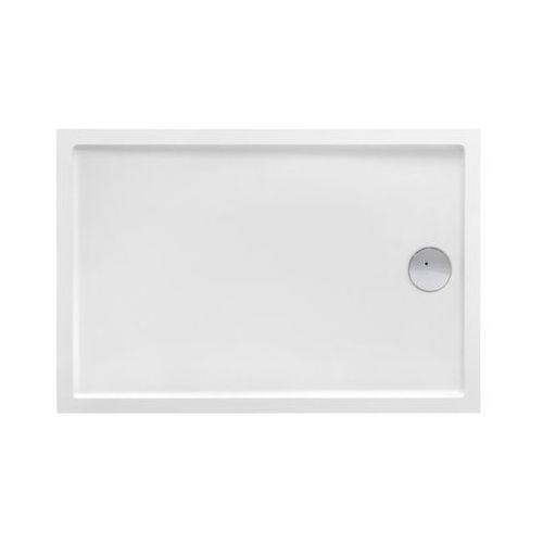 Roca Granada Medio brodzik prostokątny 140x80x7,5cm biały A27T008000, A27T008000