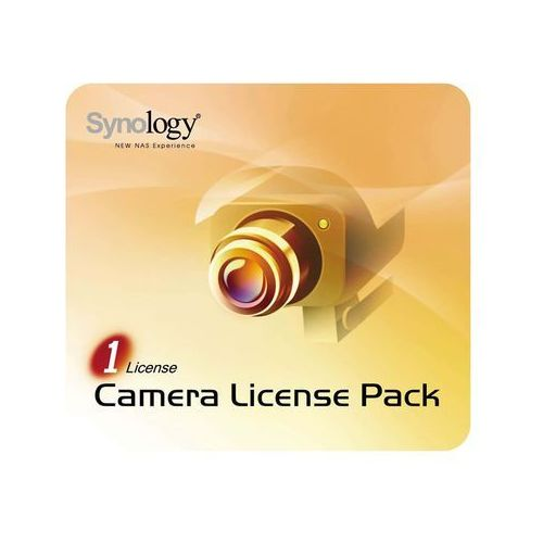 camera license pack - 1 pack - angielski marki Synology
