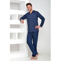 Piżama Taro Gracjan 1008 dł/r M-XL XL, czarny/nero. Taro, L, M, XL, kolor czarny