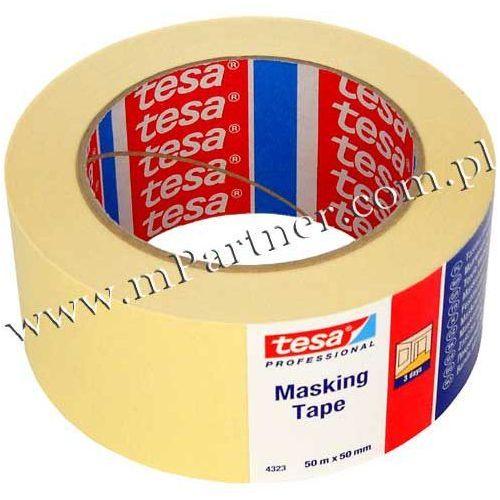 Taśma papierowa maskująca Tesa 4323 50mm 50m