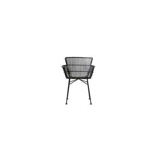 Krzesło rattanowe coon black - marki House doctor