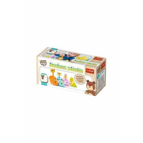 Zabawka - zwierzaki figuraki 5y36m1 marki Trefl