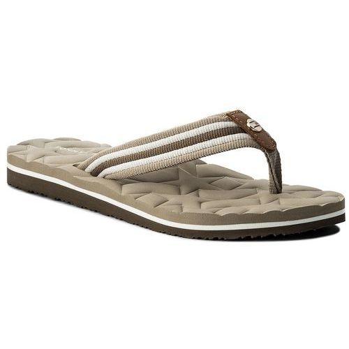 f80fea3137e09 Japonki TOMMY HILFIGER - Comfort Low Beach Sandal FW0FW02368 Cobblestone 068