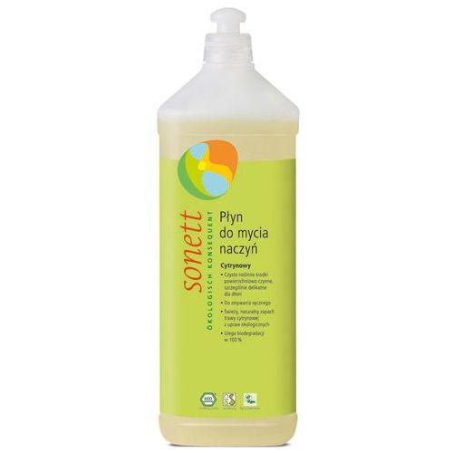 Ekologiczny płyn do mycia naczyń Cytrynowy, Sonett, sn-D022