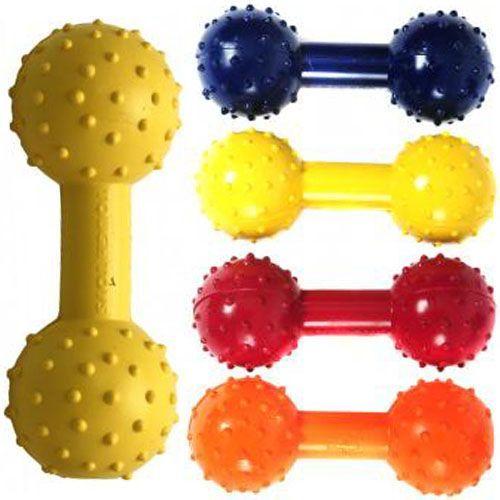 Mocny gumowy gryzak z grzechotką marki Tough Toys