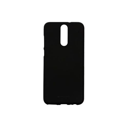 Huawei mate 10 lite - etui na telefon soft feeling - czarny marki Mercury goospery