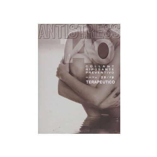 Rajstopy duży rozmiar przeciwżylakowe 140 den terapeutico, ii klasy kompresji, ucisk 22-29 mmhg - antistress marki Antistress (włochy)