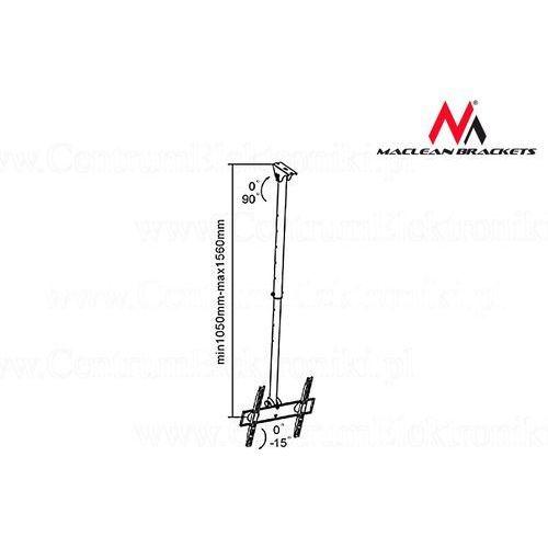 Maclean uchwyt tv sufitowy 50kg (mc-631 32-55) darmowe raty 10x0 darmowy odbiór w 16 miastach! (5903292802992)