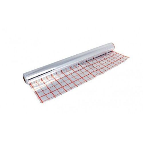 Kan Folia aluminiowa znacznikowa do ogrzewania podłogowego - rolka 50m2